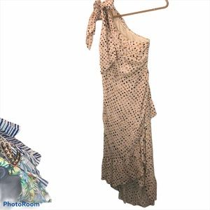 Ulla Johnson NEW 100% silk earthy print goddess 6